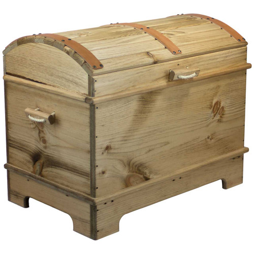 Toy Treasure Chest Beach : Wooden treasure chest toy box pirate nautical