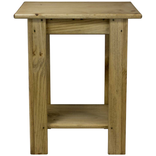 Front View Small Rectangular Side Table