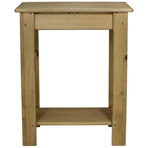 Charmant (front View) 24 Inch Skinny Sofa Table