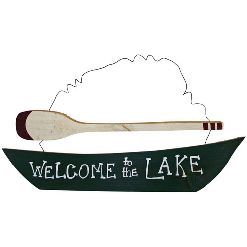Welcome To The Lake House Sign Wall Decor Wooden Signs