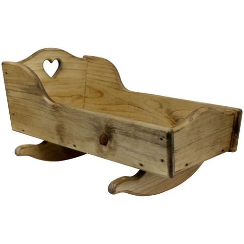 Wood-Toy-Cradle-for-Dolls-(angled-view with heart)