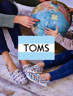 Shop Toms Classic Canvas Flat Shoes