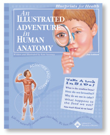 Book - Illustrated Adventure in Human Anatomy