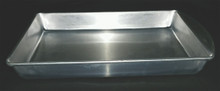 "Aluminum Pan without Wax 11.5"" x 7.5"""