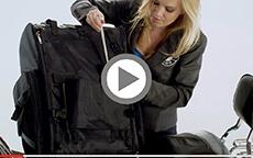 Motorcycle Sissybar Bags