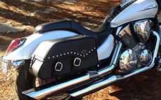 Tom Smith's '07 Honda VTX 1300 C w/ Motorcycle Saddlebags
