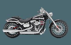 Harley Davidson Softail Breakout Bags
