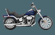 Harley Davidson Softail Custom FXSTC Bags