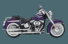 Harley Davidson Softail Deluxe FLSTN Bags