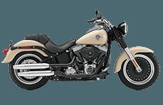Harley Davidson Softail Fat Boy Lo Bags