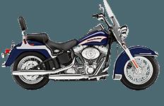 Harley Davidson Softail Heritage FLSTC Bags