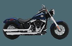 Harley Davidson Softail Slim Bags