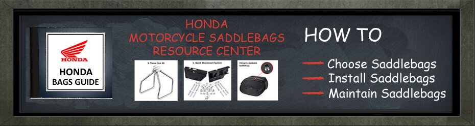 Honda Motorcycle Saddlebags Resource Guide