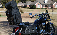 mike helton honda vtx 2 Motorcycle Luggage
