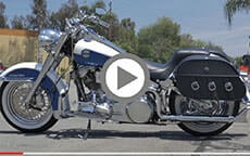 Harley Sportster customer motorcycle Bags videos 2