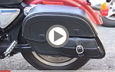 Harley Sportster customer motorcycle Bags videos 4