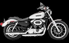 Harley Sportster 1200 Low Bags