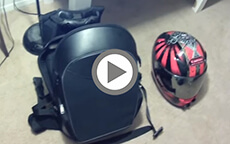 Viking Moto Motorcycle Back Pack Review by SpentFuelPool
