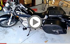 Jeff's Suzuki Motorcycle Saddlebags Review