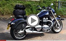V8 Villain's Triumph Thunderbird Quarter Circle Bags