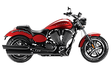 Victory Judge Saddlebags