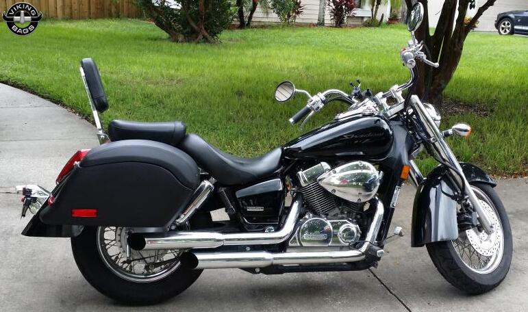 Honda Shadow Motorcycle Luggage Photo Gallery