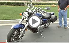 2004 Suzuki Marauder 1600 Motorcycle Saddlebags Review