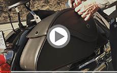 2005 Suzuki Boulevard C50 W Viking Bags Motorcycle Saddlebags