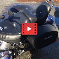 2009 Harley-Davidson Softail Custom Motorcycle Saddlebags Review