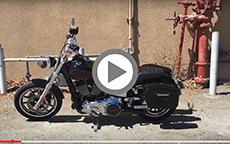 Harley-Davidson '15 Dyna Low FXDL Rider w/ Lamellar Hard Motorcycle Saddlebags