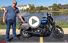2016 Harley-Davidson Street 500 Motorcycle Saddlebags