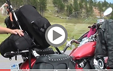 Kawasaki Sissybar Bags Customer Video