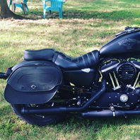 alex brown's 16 harley sportster 883 iron