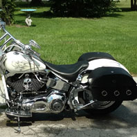 andrew carroll 04 harley-davidson Softail fat boy