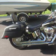 Brandand's Harley Softail Fatboy