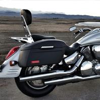 Brad's '09 Honda VTX 1300 w/ Lamellar Series Hard Saddlebags