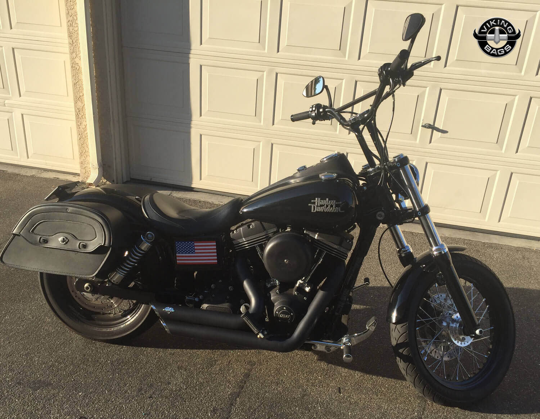 Harley-Davidson Dyna Motorcycle Saddlebags - Viking Bags