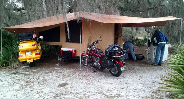 free motorcycle camping  Motorcycle Camper Trailers - vikingbags