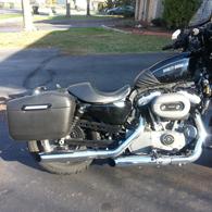 2011 Harley-Davidson Nighster w/ Lamellar Hard Saddlebags
