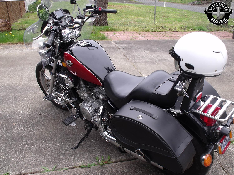 kawasaki vulcan 750 motorcycle saddlebags large armor. Black Bedroom Furniture Sets. Home Design Ideas
