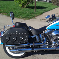 christy reed 16 harley softail deluxe