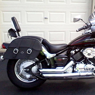 Douglas's '93 Harley-Davidson Dyna Street Bob w/ Leather Motorcycle Saddlebags