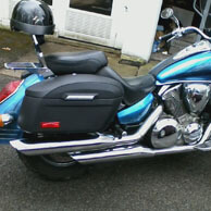 Dan Smith's Honda VTX 1300S w/ Lamellar Hard Motorcycle Saddlebags