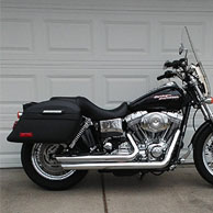 David's '05 Harley-Davidson Dyna Super Glide w/ Lamellar Hard Saddlebags