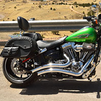 david johnson 15 harley softail breakout