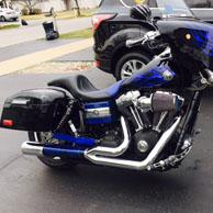Picton's '13 Harley-Davidson Dyna Wide Glide w/ Lamellar Hard Saddlebags