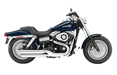 Haryley Dyna Fatbob Saddlebags
