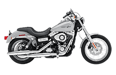 Harley Dyna Super Glide Saddlebags