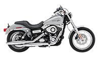 Harley Davidson Dyna Super Glide Motorcycle Saddlebags