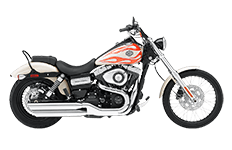 Harley Dyna Wild Glide Saddlebags